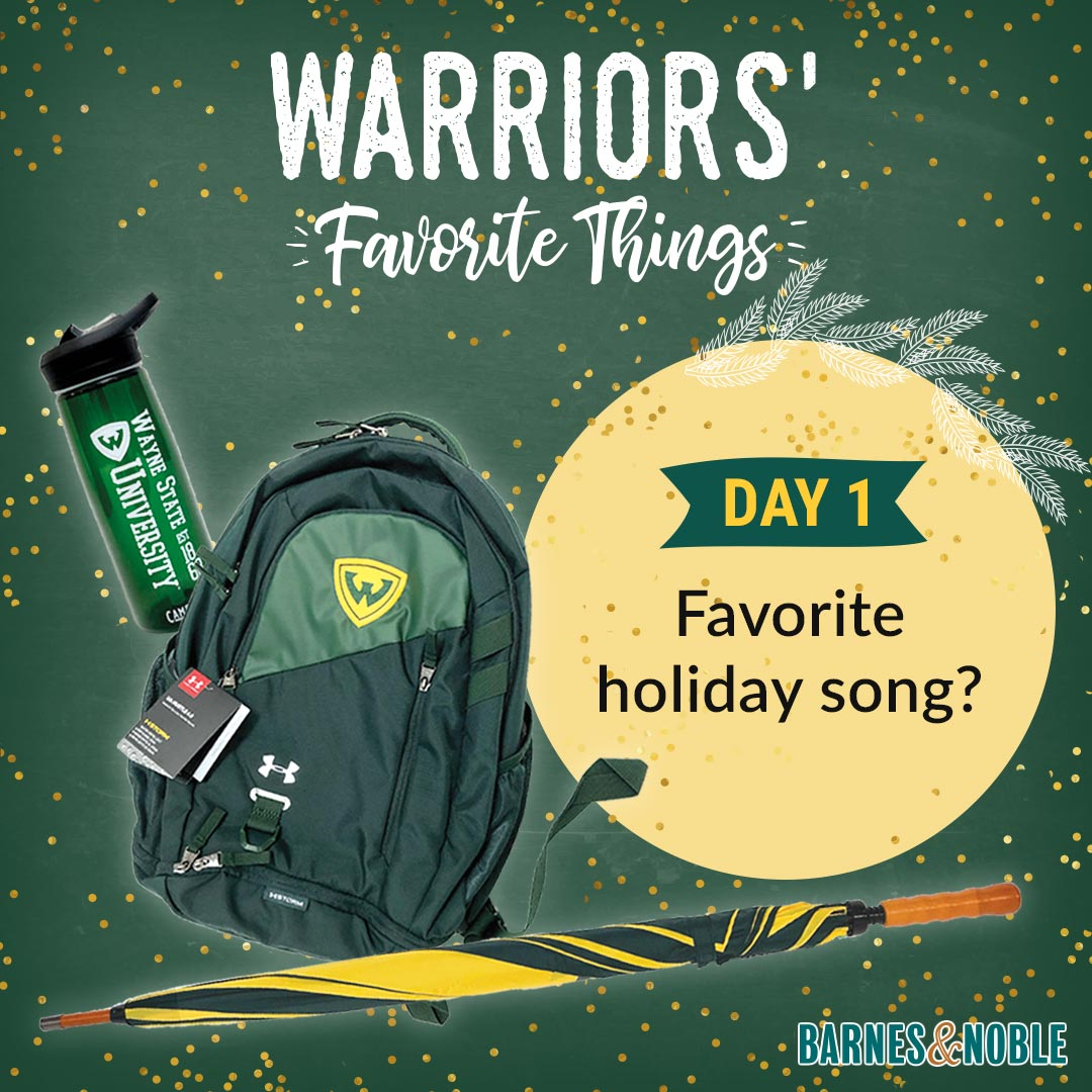 Day 1 - What is your favorite holiday song?
