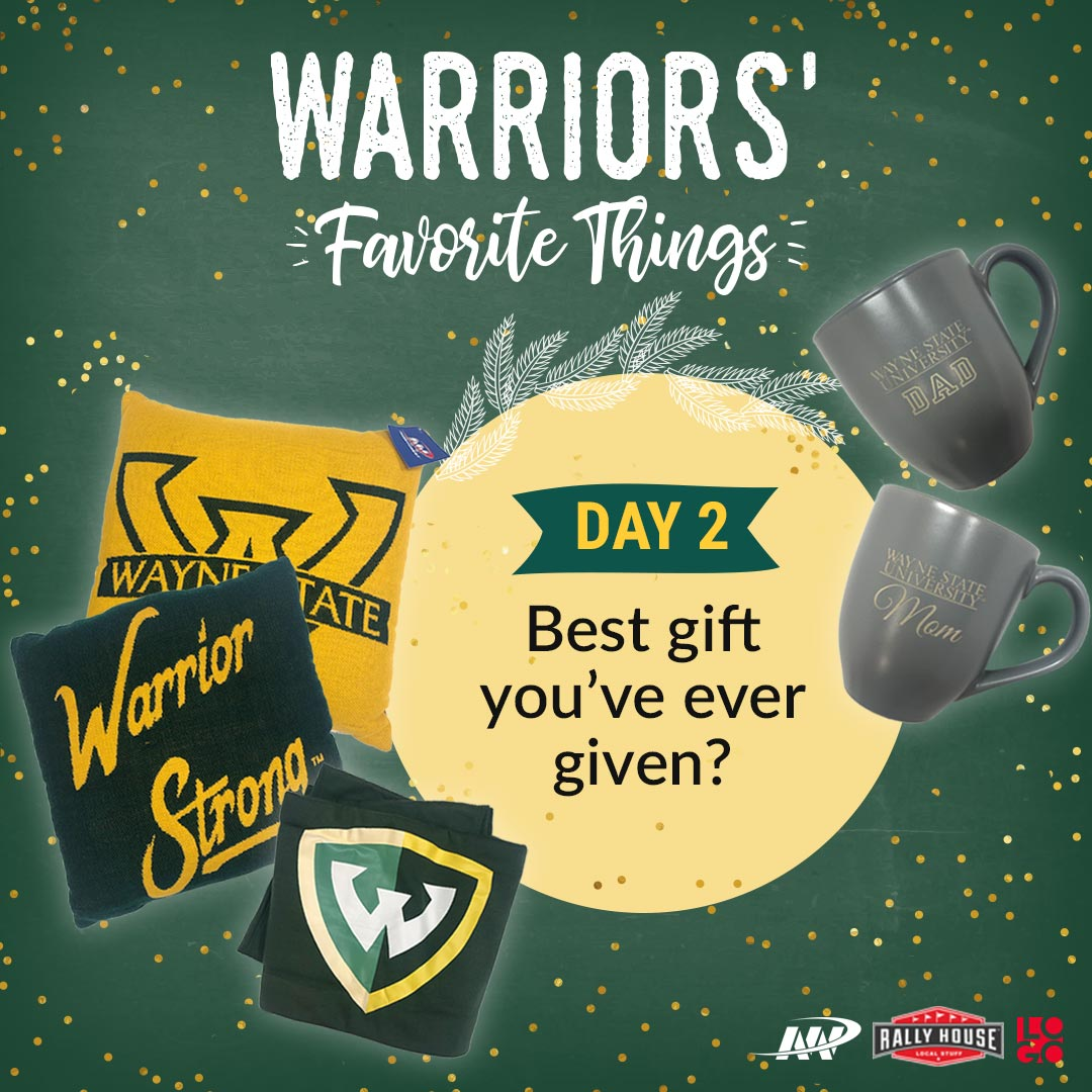 Warriors' Favorite Things - Day 2 prize pack includes pillows, blanket and Mom and Dad mugs