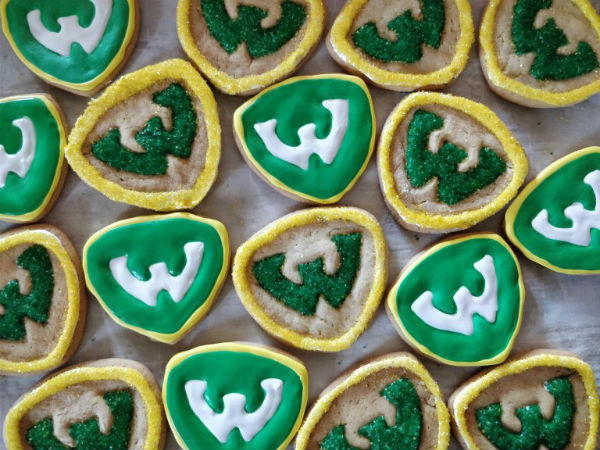 Warrior strong cookies